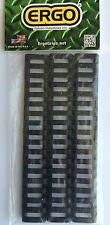 ERGO PICATINNY 18 SLOT LADDER Low Profile RAIL COVERS 3-Pk BLACK 4373-3PK-BK NEW