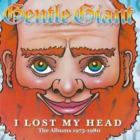 GENTLE GIANT - I LOST MY HEAD-THE ALBUMS 1975-1980(2012 REMASTER BOX) 4 CD NEU