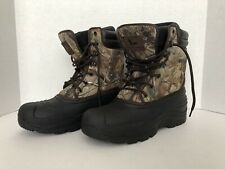 Field & Stream Mens 9 Realtree Camo Thinsulate Buck Hunter 600 AP Mucking Boots