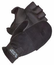 Alaska River Flip Mitt Gloves Fleece/Polyurethane Fishing Winter Glacier Glove