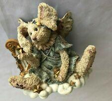 "Brown Boyds 3.5X4"" Bunny Rabbit Figurine Angel"