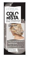 L'Oreal Colorista Hair Makeup Shimmer Silver Gold Temporary Blonde Hair Colour
