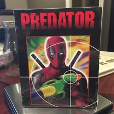 PREDATOR Blu-Ray LIMITED DEADPOOL Variant Cover Exlclusive