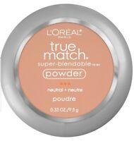 Loreal Paris True Match Super Blendable Powder Compact Makeup N5 True Beige New