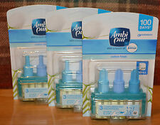 1 X Ambi PUR 3volution Official Febreze Fragrance Refill - 17 Scents to Choose Cotton Fresh