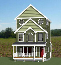 20x20 House -- 1,067 sq ft -- PDF Floor Plan -- Model 8C