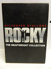 SYLVESTER STALLONE ROCKY HEAVYWEIGHT COLLECTION 6 DVDS