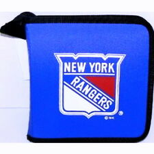 NEW YORK RANGERS CD/DVD/GAME OR VIDEO STORAGE CARRYING CASE NHL ORGANIZER BAG
