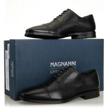 Magnanni Rodrigo Lineo Merino Mateo Black Leather Cap Toe Oxford - Mens 7 M