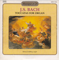 J.S Bach CD Toccatas For Organ - France