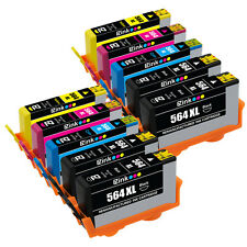 10PK Ink Cartridges (New Generation) For HP 564 XL  Officejet 4610 4620 4622