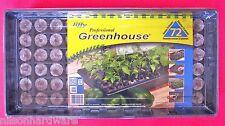 Seed Starting Tray Plastic Humidity Dome Jiffy 72 Pellet Windowsill Greenhouse