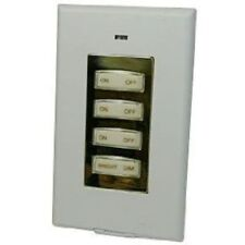 X10 Wall Style-Switch Gold 3-Unit + Dimmer SS15-A ==> New-In-Box w/Fresh Battery