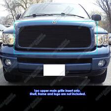 Fits 02-05 Dodge Ram 1500/2500/3500 Black Billet Grille Insert