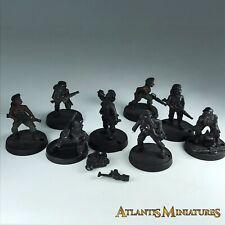 Metal Female Marines X8 - Shadowforge X1045