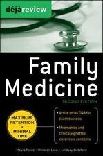 Deja Review Family Medicine (Paperback or Softback)