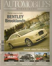 AUTOMOBILES CLASSIQUES 172 BENTLEY BROOKLANDS FERRARI DINO 246 S STOUT SCARAB