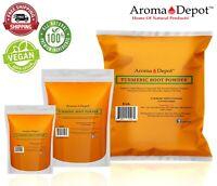 Tumeric Root Powder Pure Curcuma Longa Raw Spice cúrcuma Turmeric 100% Natural