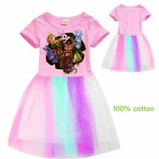 2020 Five nights at Freddy Girls Summer Home Tops Dress Clothing Birthday Gifts
