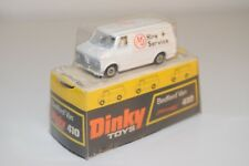 DINKY TOYS 410 BEDFORD VAN MJ HIRE SERVICE WHITE VERY NEAR MINT BOXED