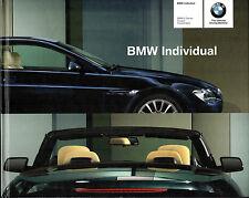 BMW 6-Series Individual Colour & Trim 2004-05 UK Market Hardback Brochure