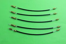 100pcs 3/4--4/4 Violin Tail Gut. Tailpiece adjuster, Violin Accessories