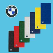 BMW Towel 50x100 cm COTTON EMBROIDERED Auto Moto Logo Face Hand Car Bathroom Gym