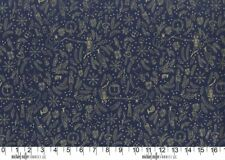 Nutcracker Mini Overture Navy Michael Miller Fabric FQ +More 100%Cotton