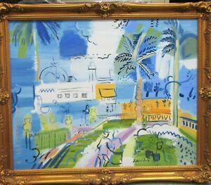 Elmyr De Hory After RAOUL DUFY Oil Painting on Canvas
