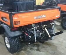 Farmboy Sport X 3-point hitch for NEW Kubota RTV-X Series X900, X1100, X1120