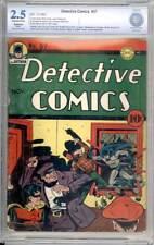 Detective Comics # 57  Reuben Blades copy !  CBCS 2.5 scarce Golden Age book !