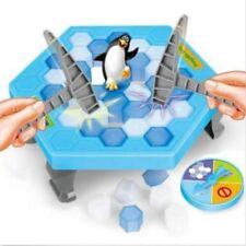 Hammer Penguin Save the Penguin on Ice Game Break Ice Block Trap Family Game New