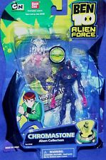 BEN 10 Alien Force CHROMASTONE 4 Inch Bandai Factory Sealed Figure #27455 New