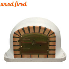 brick outdoor wood fired Pizza oven 100cm white forno model