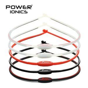 Power Ionics 2000ions/cc Sports Waterproof Healthy Bio necklace women men health
