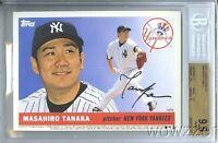 2014 Topps Yankees 5x7 1955 Design Masahiro Tanaka ROOKIE #34/99 BGS 9.5 GEM 1/1