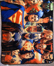 Alex Ross Justice soft blanket 2 sided Dc Comics Justice League Legion of Doom