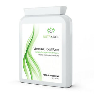 Vitamin C  Food form Vitamin C extracted from Acerola Cherry Fruits 60 Capsules