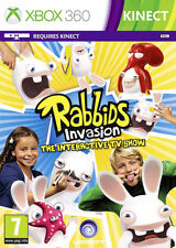 Rabbids Invasion The interactive TV Show ~ Xbox 360 (in Excellent Condition)