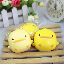 Squishy Cute Yellow Duck Bread Phone Straps Slow Rising Bun Charms Gifts Toys DP
