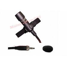 Lapel Uni-directional Condenser mic JPA Lavalier Mic For NADY(3.5mm) Wireless