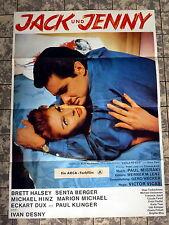 SENTA BERGER * JACK UND JENNY - A1-FILMPOSTER Mot. A -1963 MARION MICHAEL, HINZ