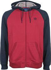 Adidas Originals SPORT LITE HOODIE Sweater Men's Size XL Navy Blue / Red G86553