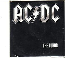 """AC/DC """"The Furor"""" 1 Track Promo CD SELTEN"""