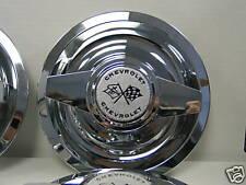 GM Chevy Rally Wheel Spinner Caps 62 63 Nova Wire Wheel