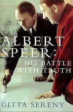 Albert Speer: His Battle with Truth, Sereny, Gitta, New Book