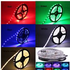 5M 5050 300 Tira de Luz LED RGB CCT RGBW LUCES DE CINTA Cuerda De Pcb Negro Lámpara De Rayas