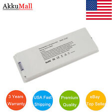 "White Battery For Apple MacBook Pro 13"" 13.3 Inch A1181 A1185 MA561 MA566 Us"