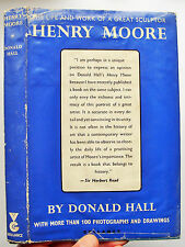 HENRY MOORE 1st ed 1966 Donald Hall The Life and Work of a Great Sculptor HB DJ