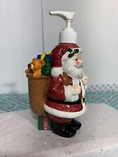 Christmas Santa Clause Hand Soap/Lotion Dispenser New In Original Box